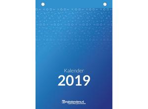 Dagkalender A5, scheurkalender, voorbeeld voorzijde