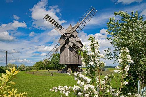 Post molen