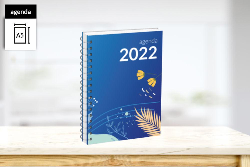 Agenda jaargang 2022 formaat A5